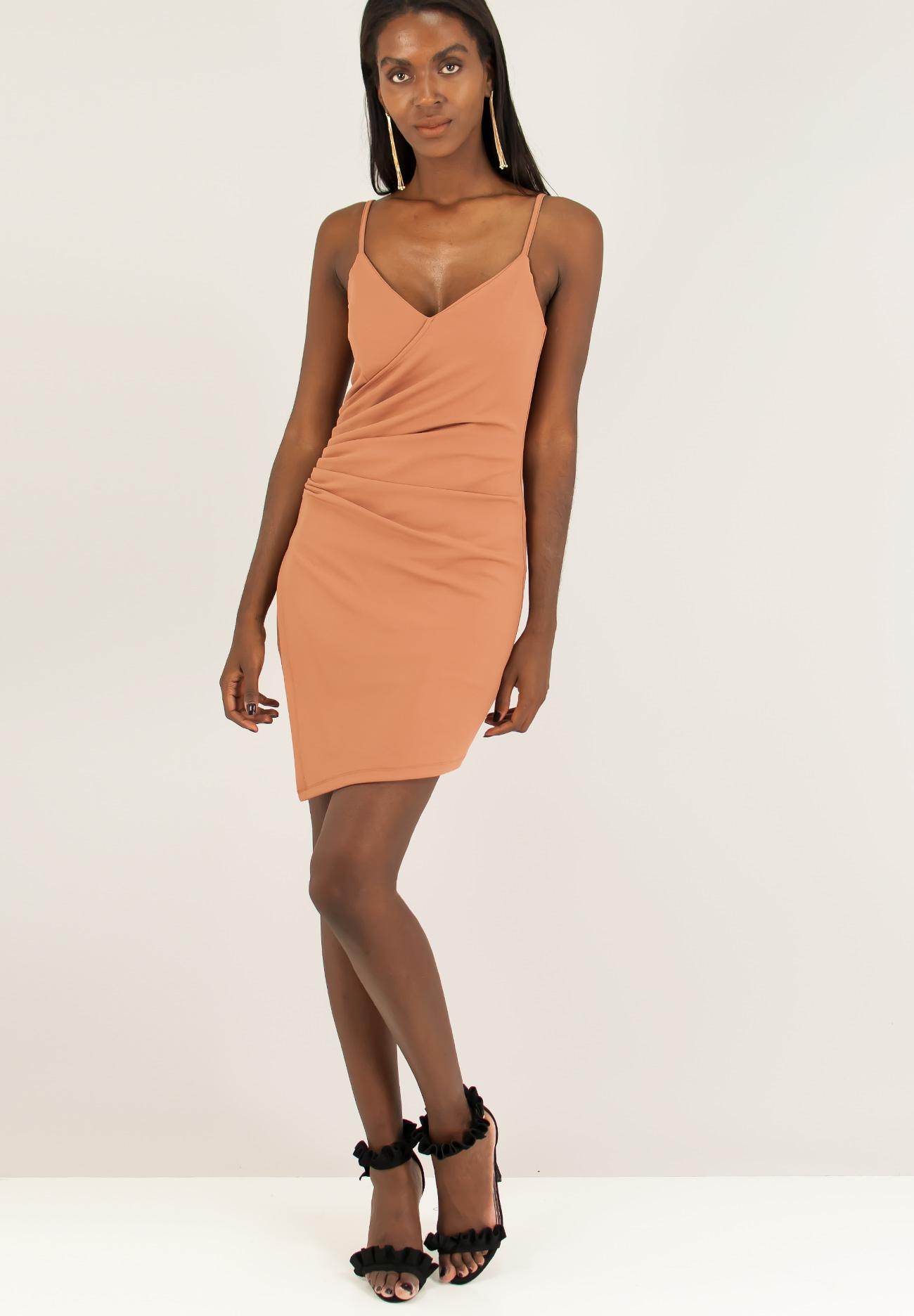 Εφαρμοστό φόρεμα με σούρες. - ZIC ZAC 0ca18156397