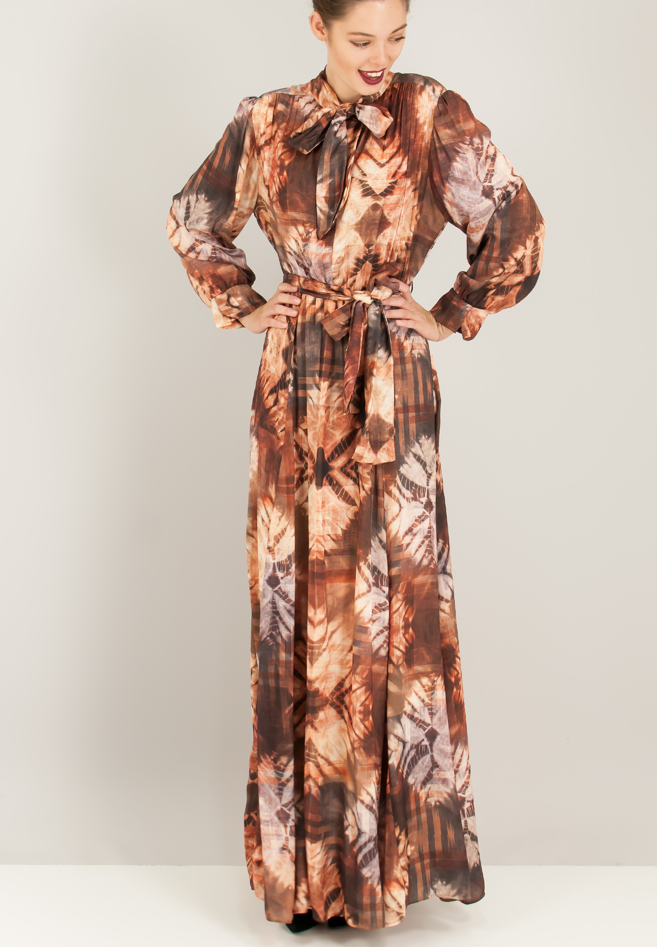 bb7f19c4556a Animal print σατέν φόρεμα - ZIC ZAC
