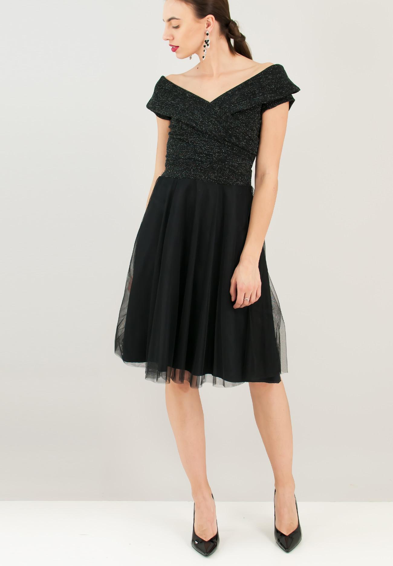 22fb3dd0e706 Φόρεμα με λούρεξ μπούστο - ZIC ZAC