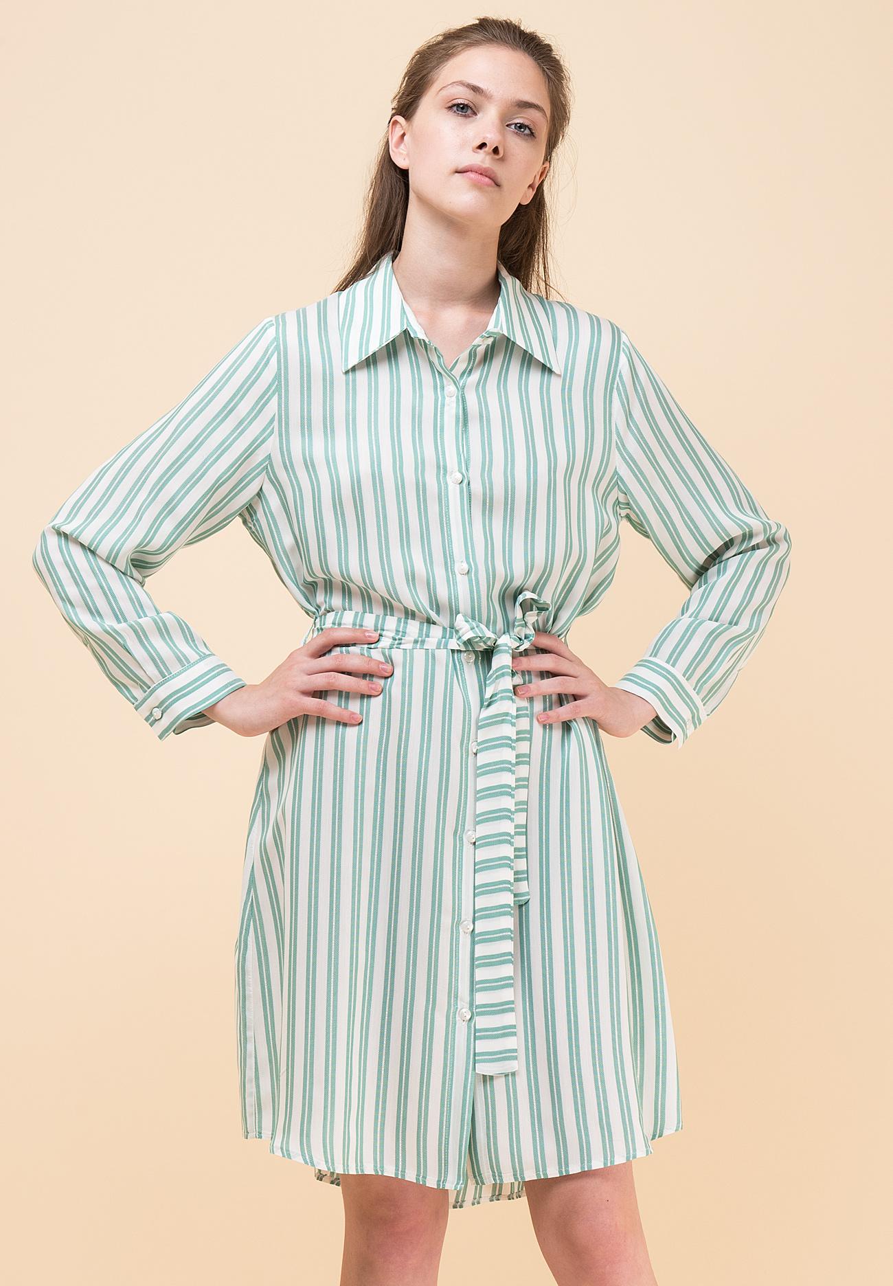 ae22636862f Ριγέ shirt φόρεμα - ZIC ZAC