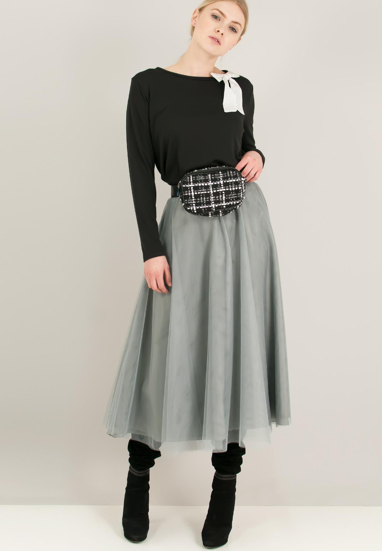 Τούλινη φούστα με λάστιχο στη μέση - ZIC ZAC ecef1654590