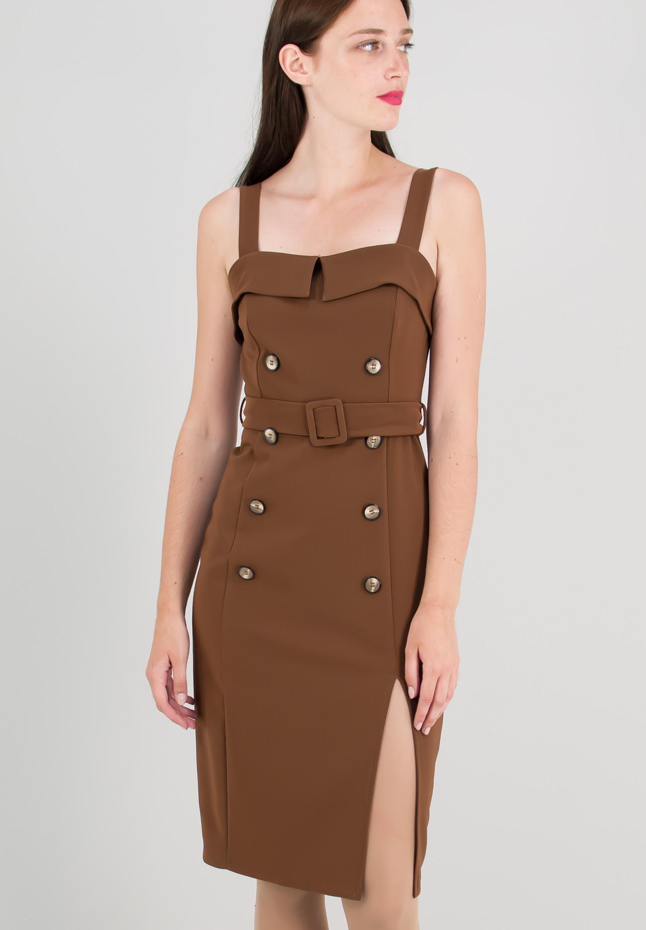 Μίνι φόρεμα με κουμπιά - ZIC ZAC e604f6a1040