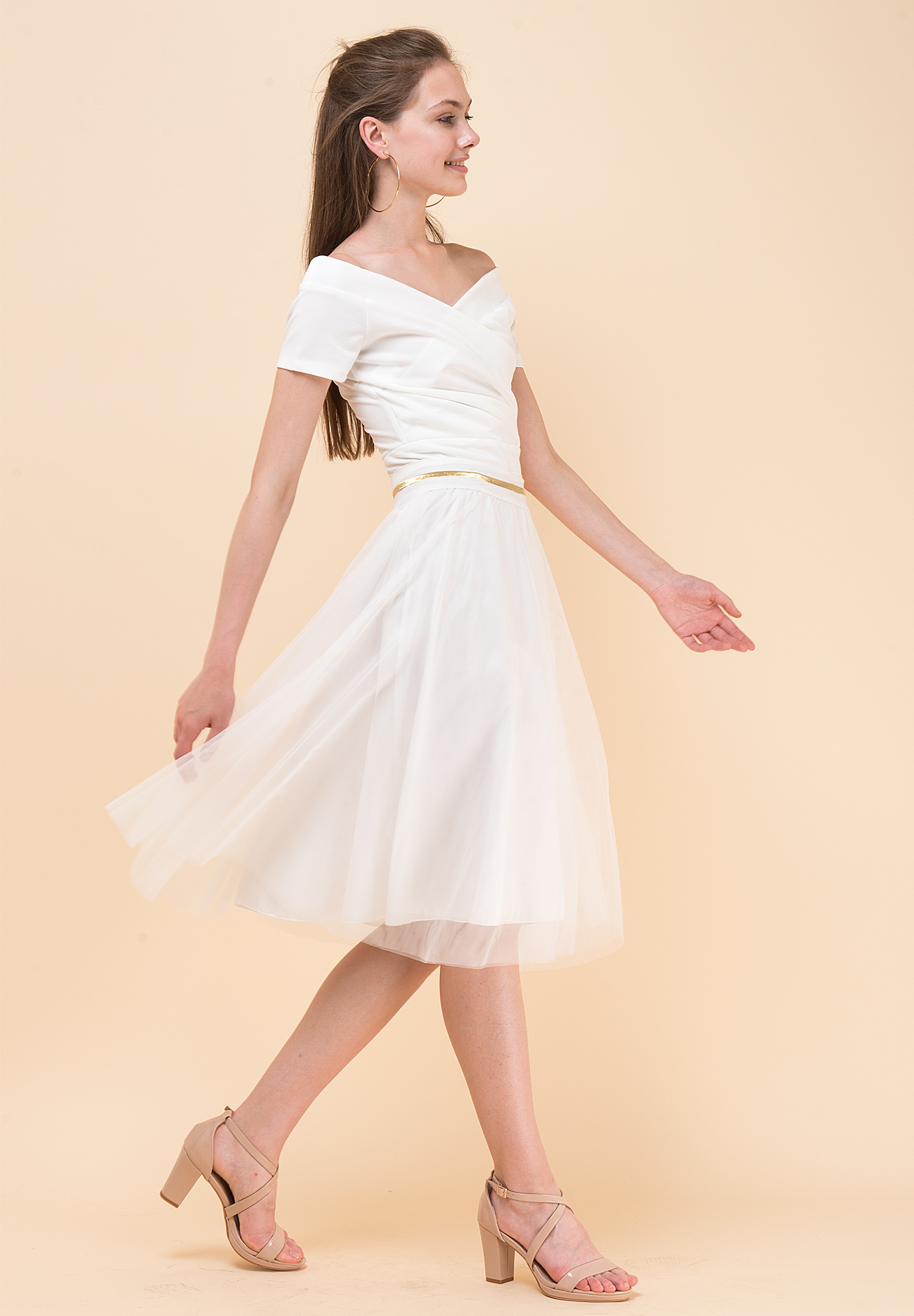 05a5bc53c875 Mini tulle skirt - ZIC ZAC