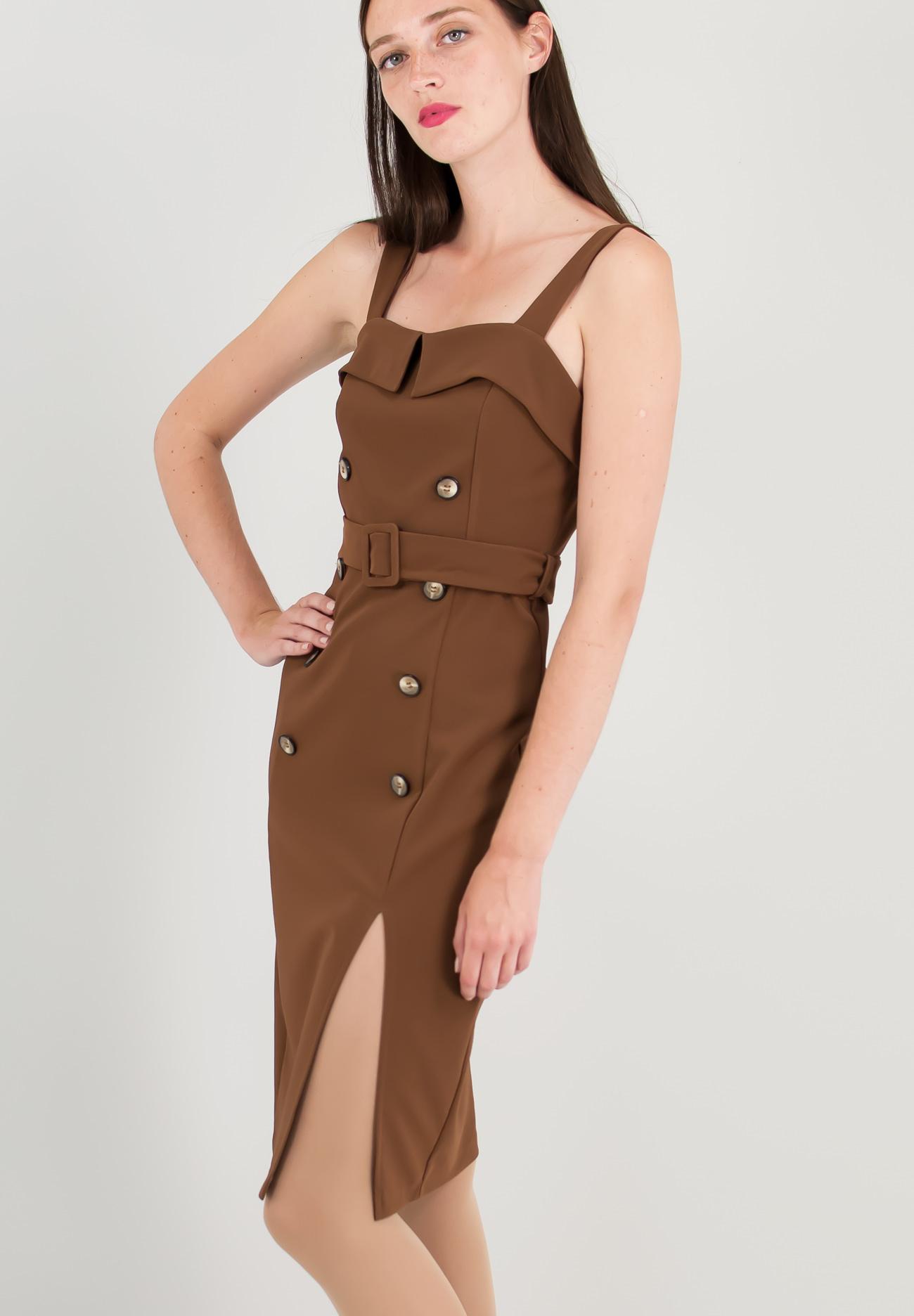 Μίνι φόρεμα με κουμπιά - ZIC ZAC 96bac279165