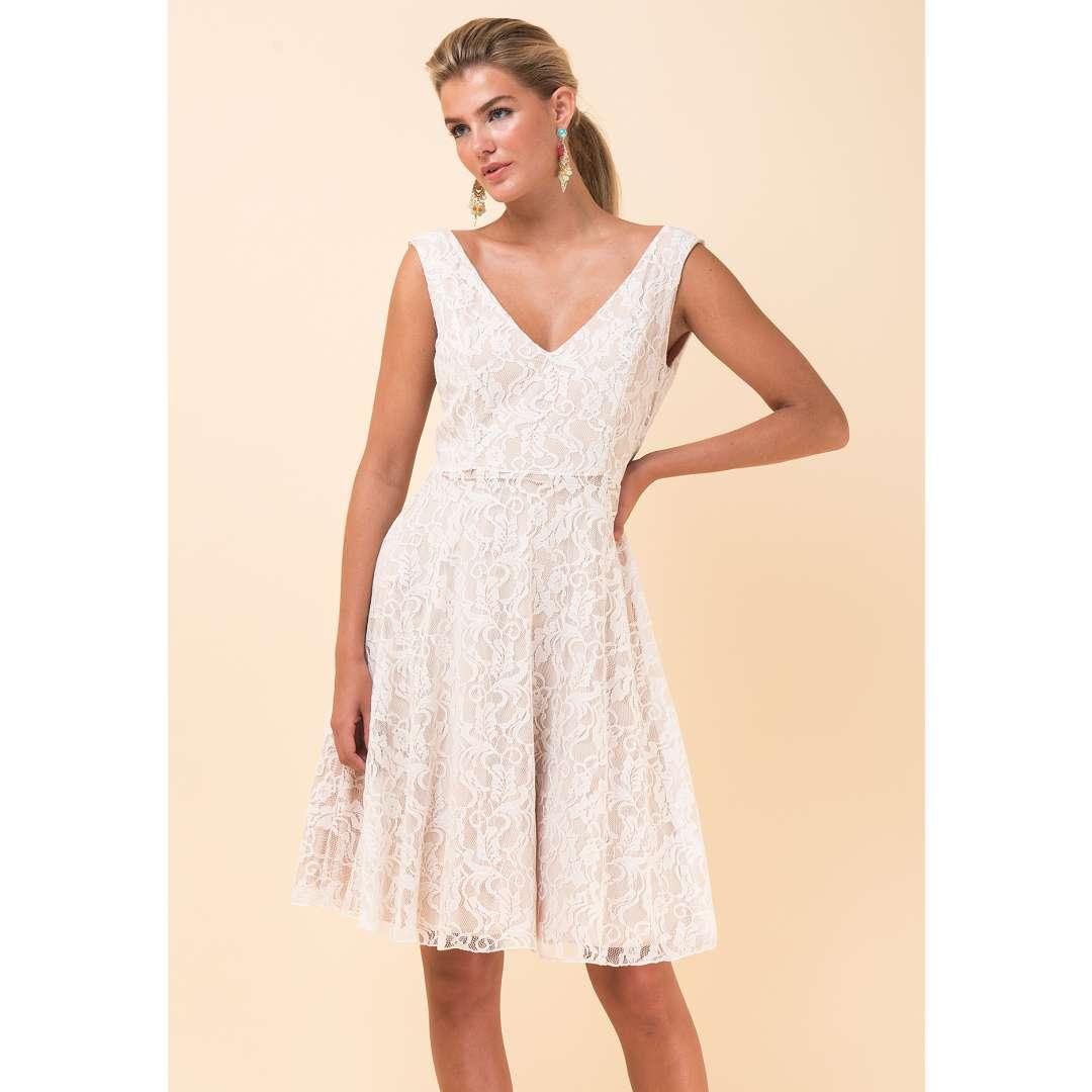 Δαντελένιο κλος φόρεμα