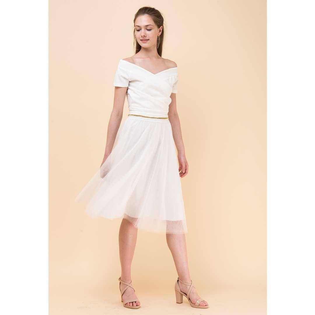 Μίνι τούλινη φούστα