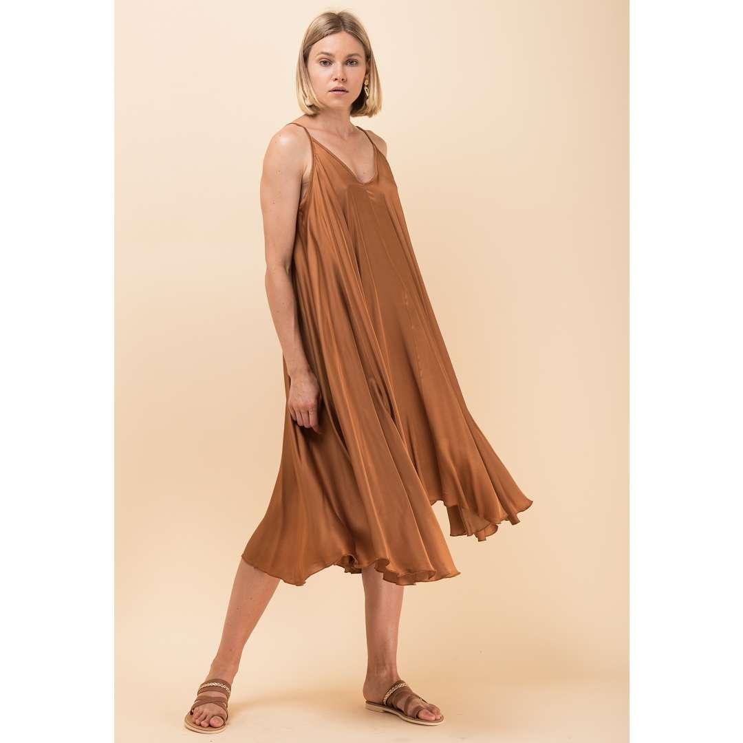 Loose lingerie φόρεμα