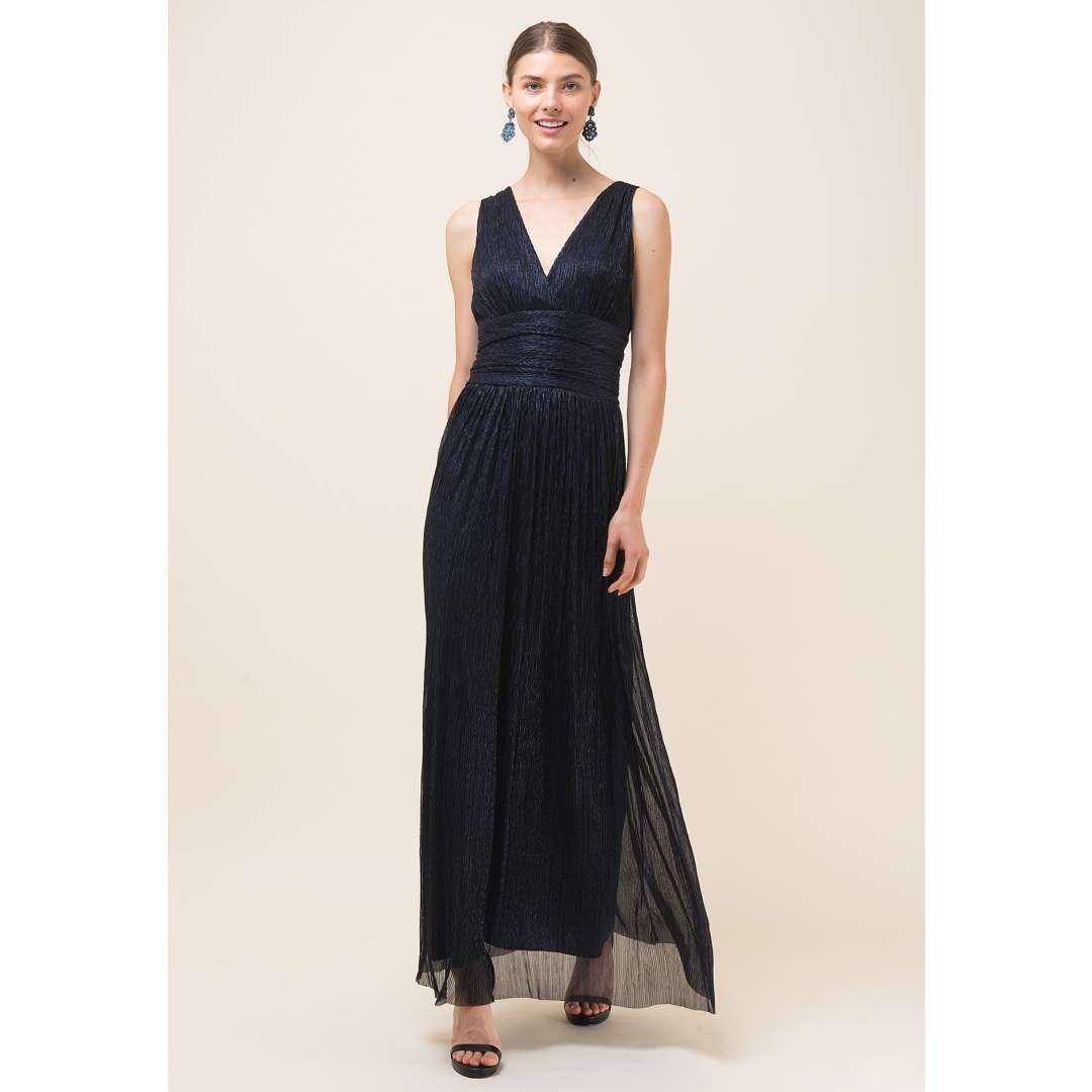 Maxi λούρεξ κρουαζέ φόρεμα
