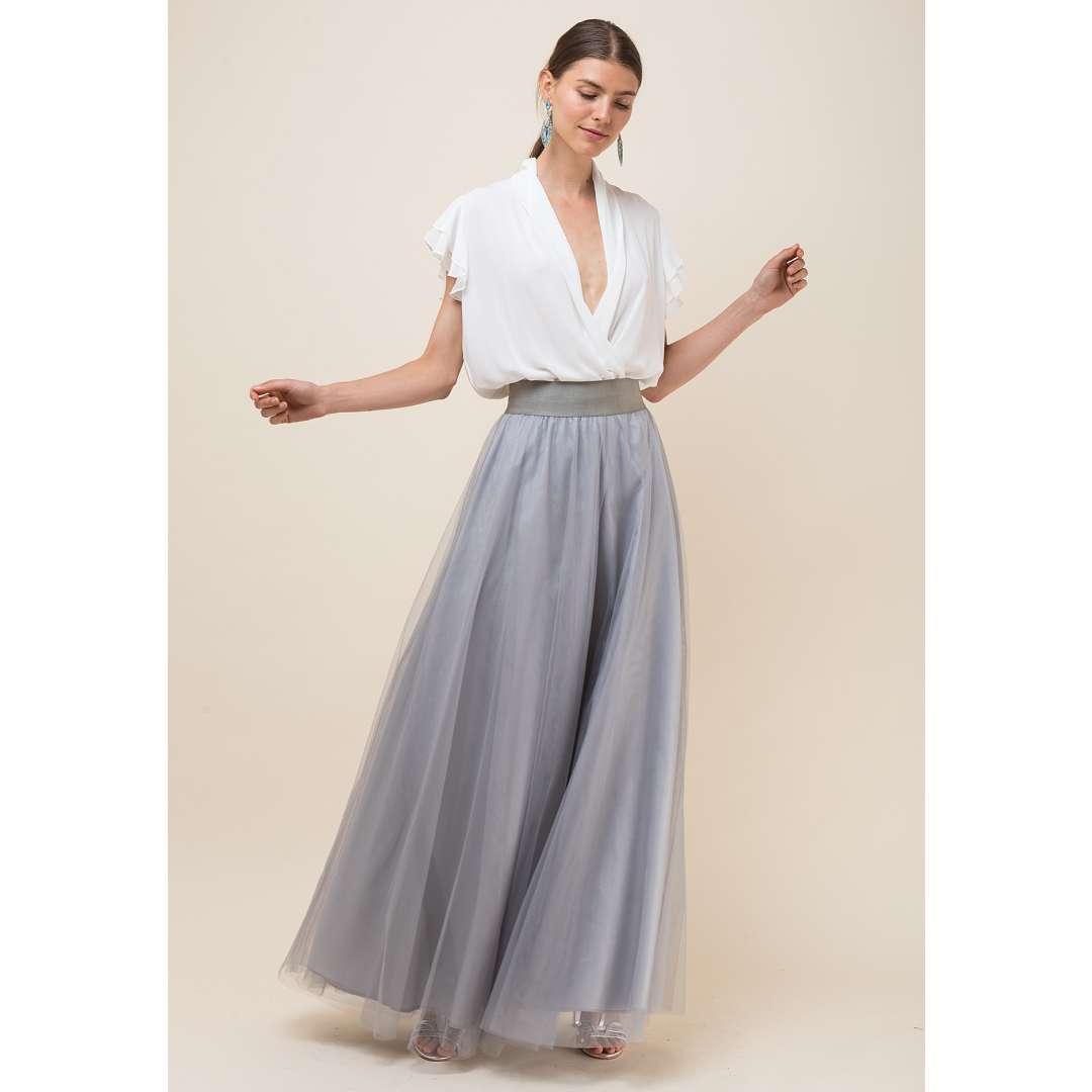 Maxi τούλινη φούστα