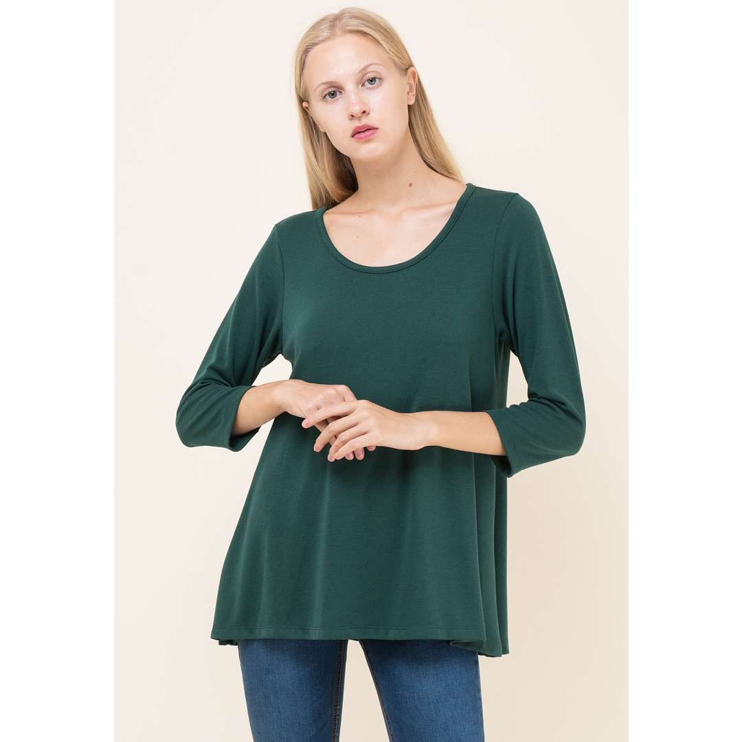 Basic πλεκτή μπλούζα