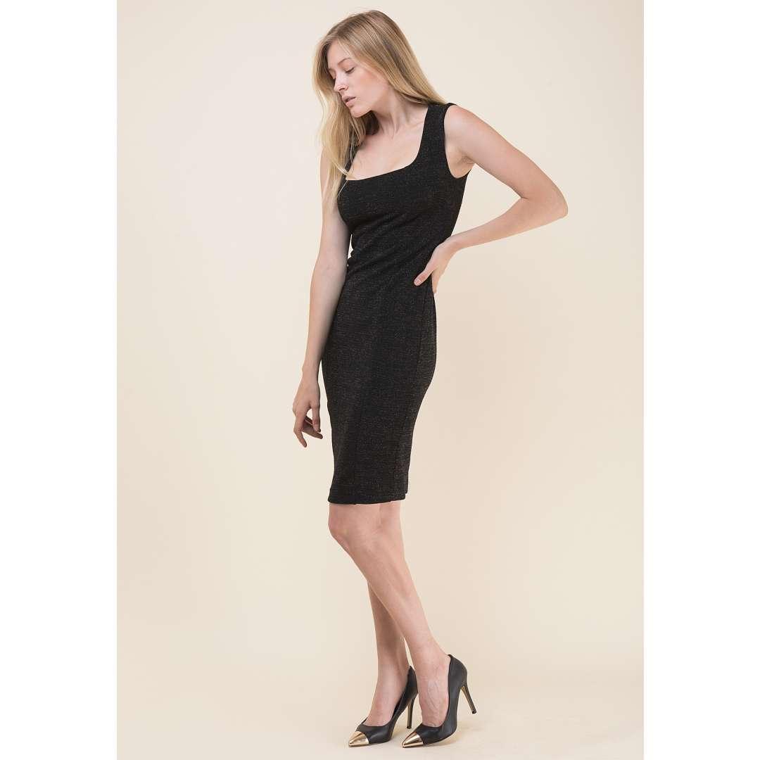 Εφαρμοστό λούρεξ φόρεμα