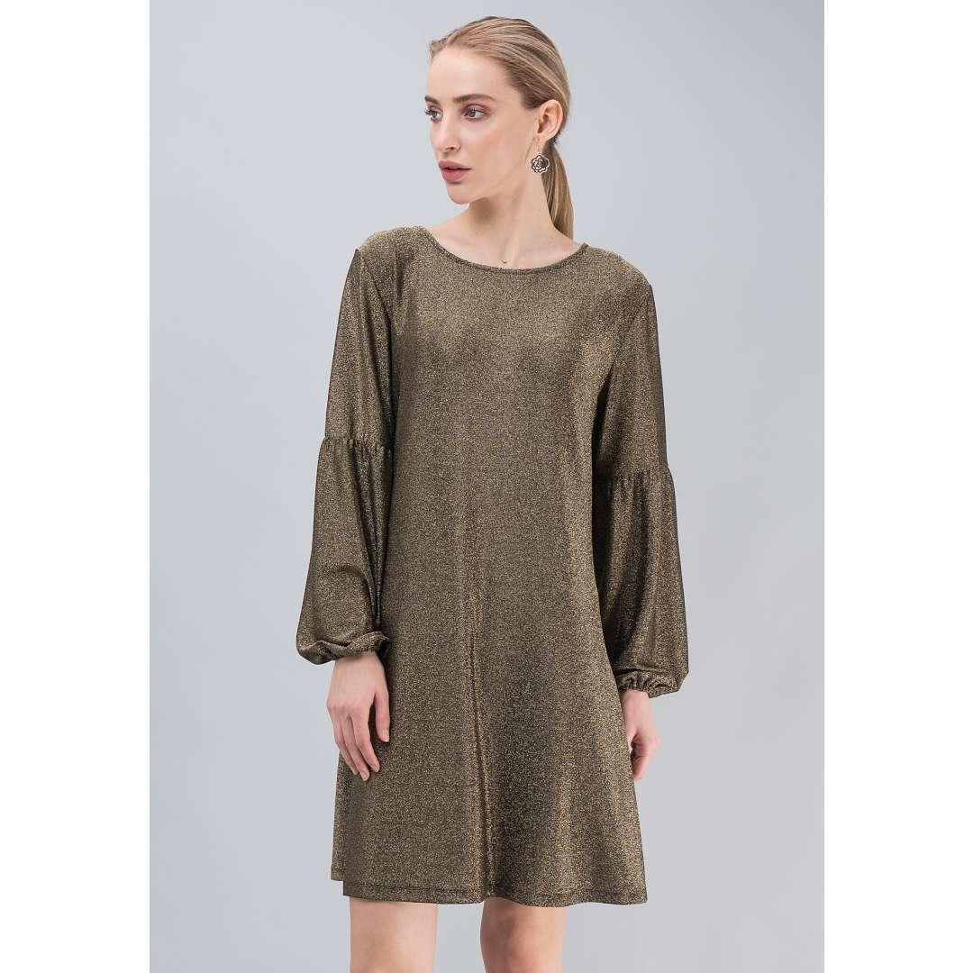 Loose λούρεξ φόρεμα