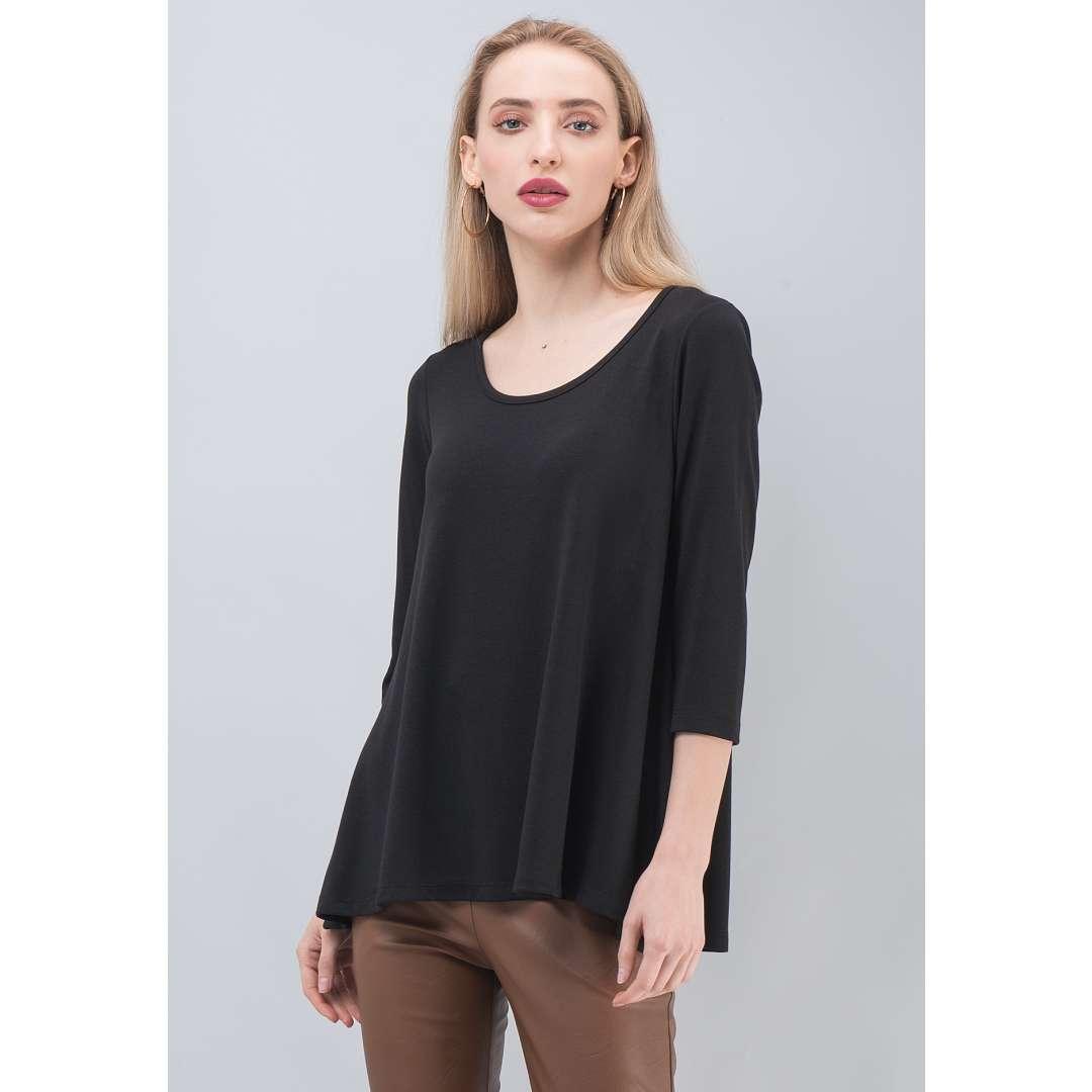 Basic μπλούζα σε άνετη γραμμή