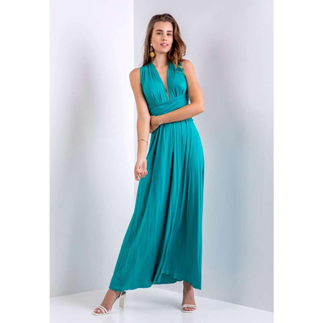 Μακρύ πολυμορφικό φόρεμα