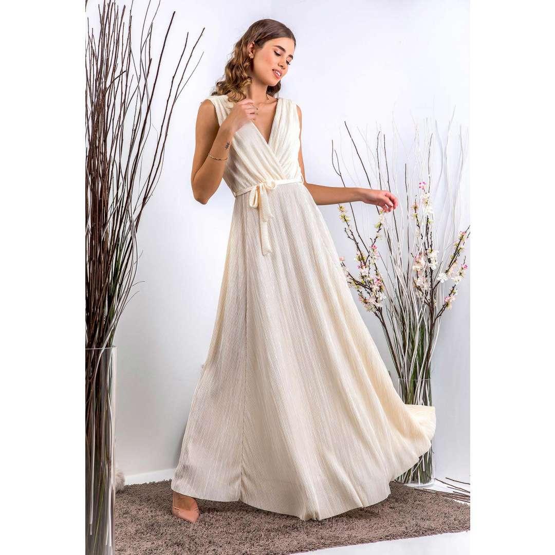 Μάξι φόρεμα σε αρχαιοελληνική γραμμή
