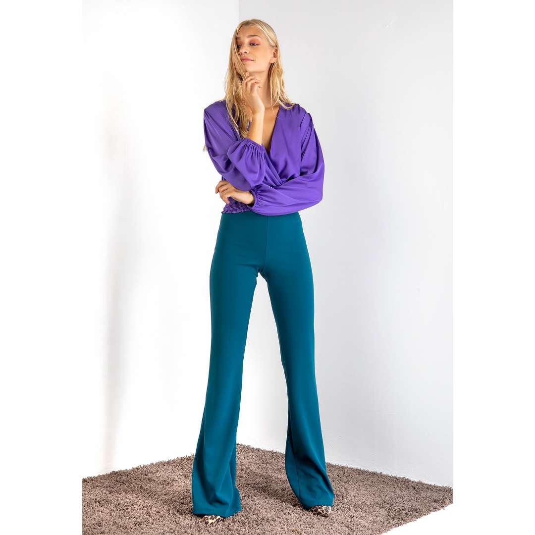 Ελαστικό παντελόνι καμπάνα