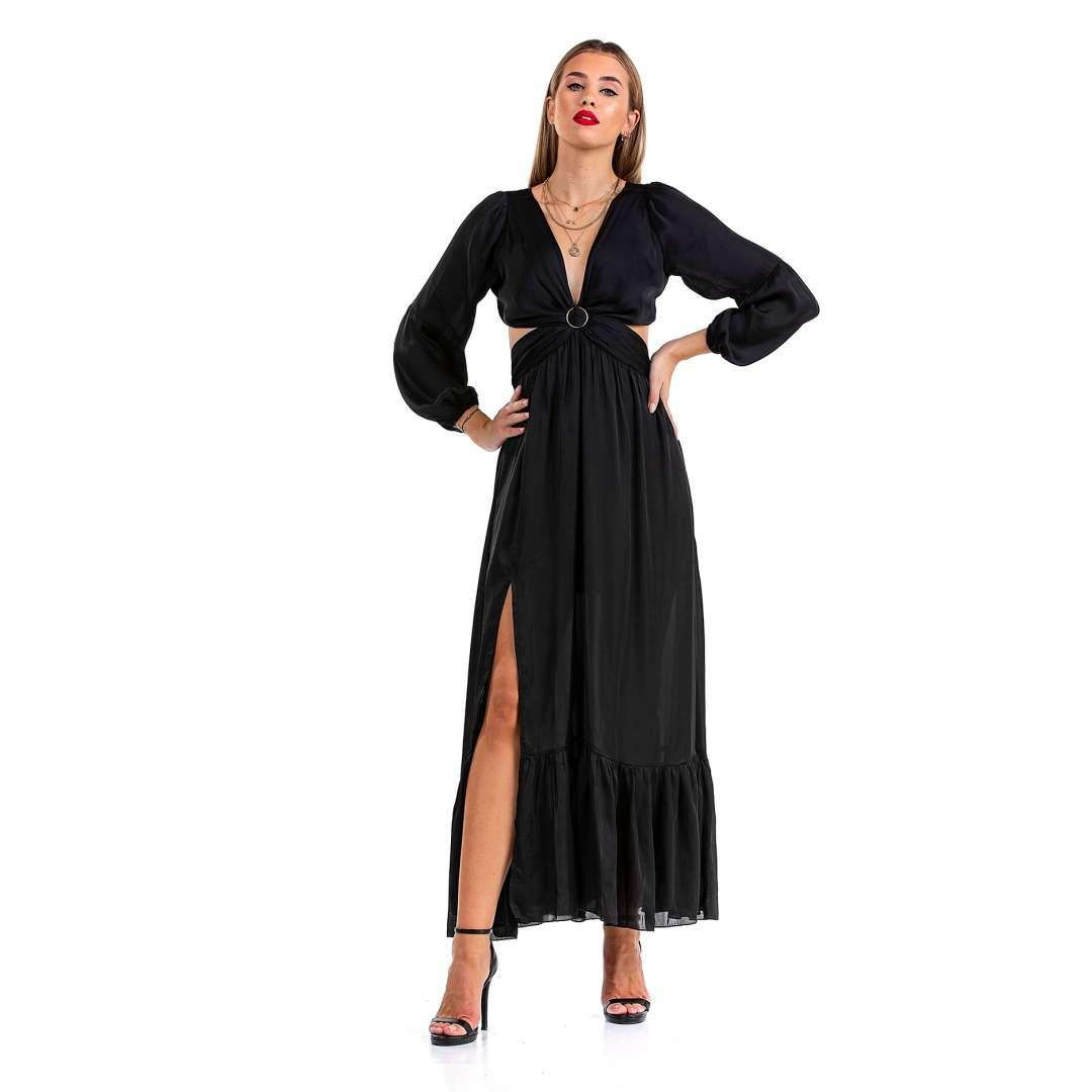 Maxi φόρεμα με κρίκο