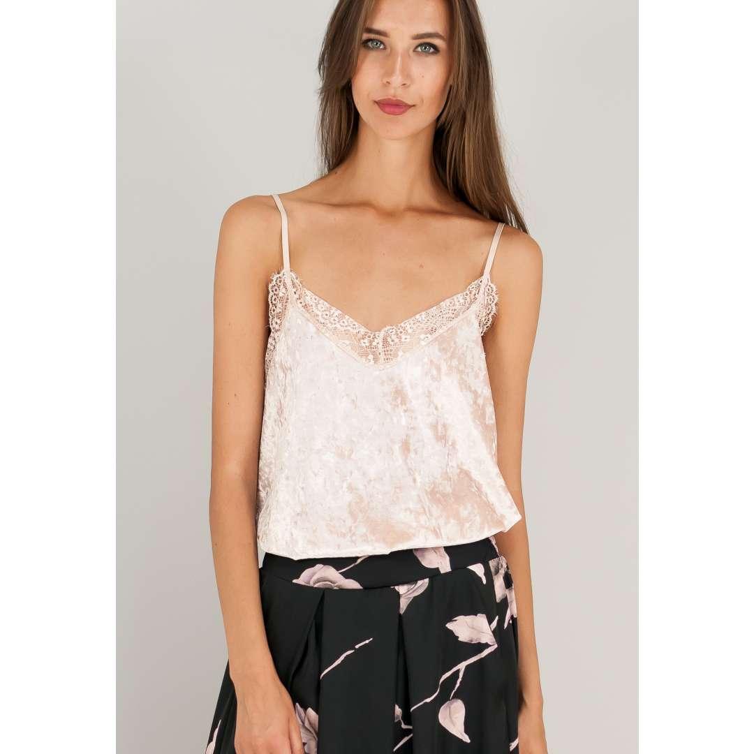 Βελούδινο lingerie τοπ. ενδυματα   μπλουζεσ τοπ   basics