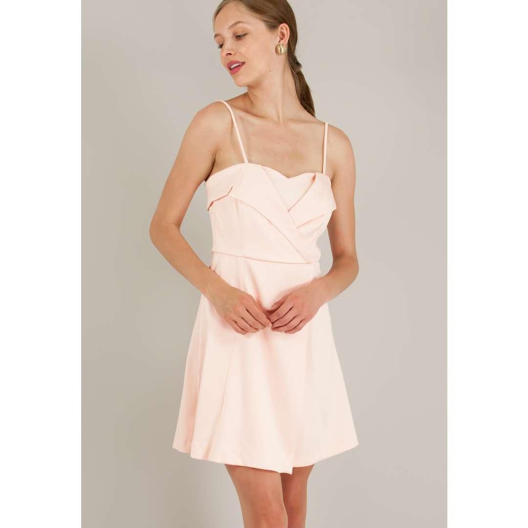 Μίνι φόρεμα τύπου φάκελος.