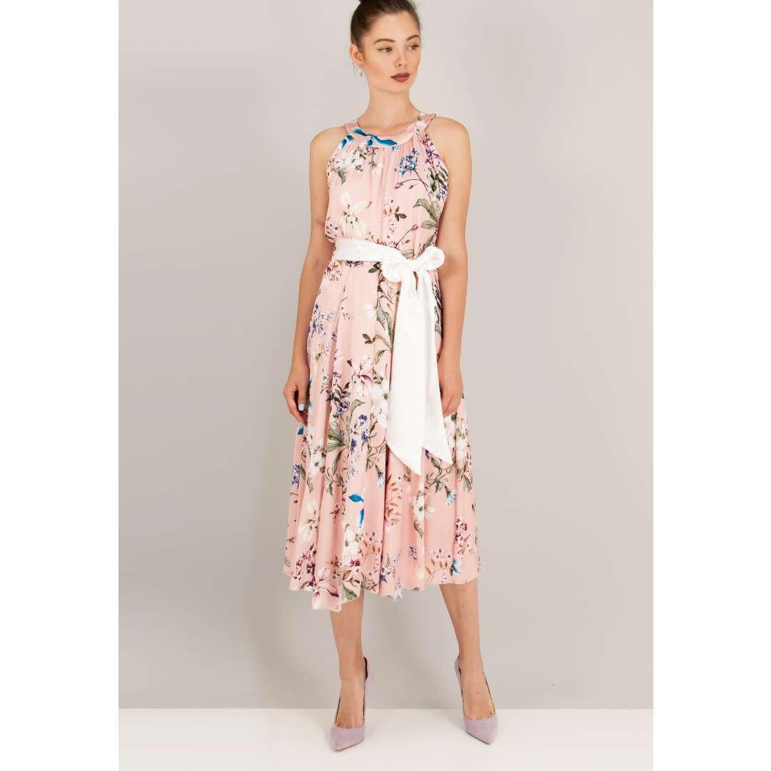 Φλοράλ κλος φόρεμα.