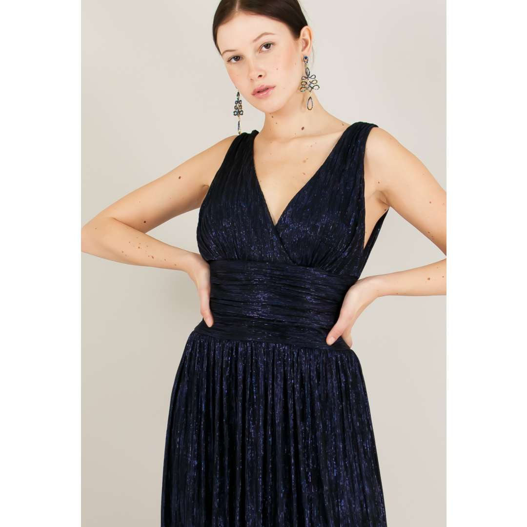 Λούρεξ φόρεμα με σούρες. ενδυματα   φορεματα   κρουαζέ φορέματα