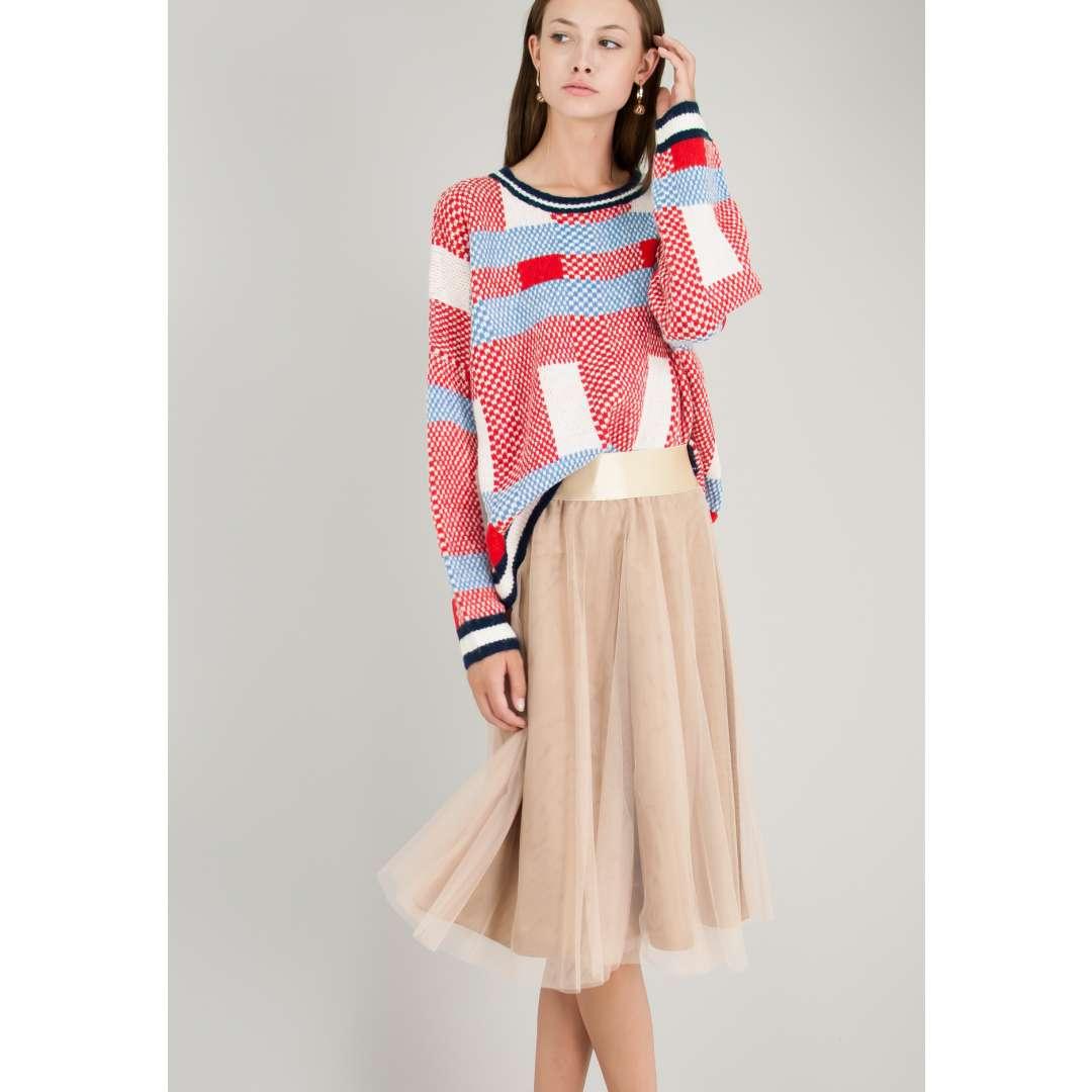 Mini τούλινη φούστα.