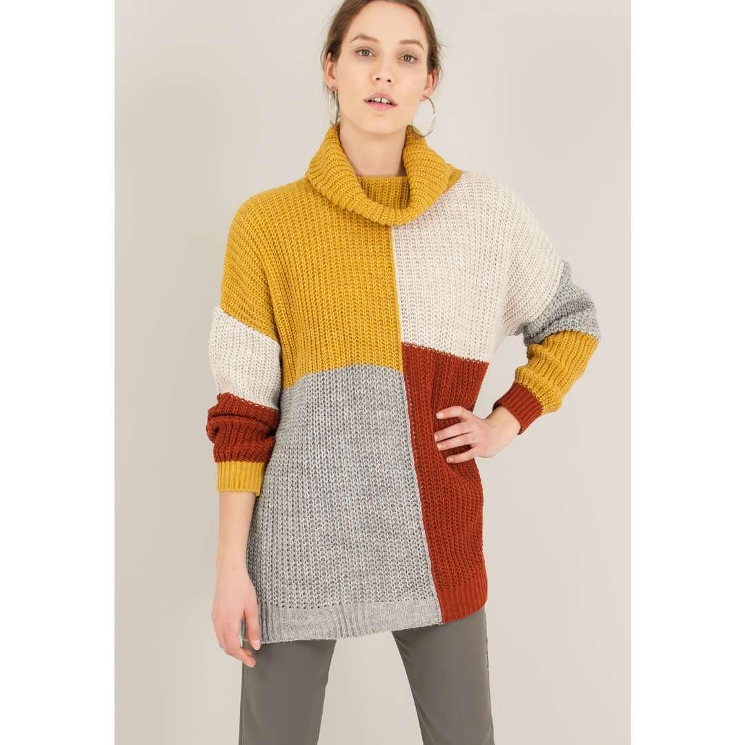 Πολύχρωμο πουλόβερ ενδυματα   μπλουζεσ τοπ   όλα