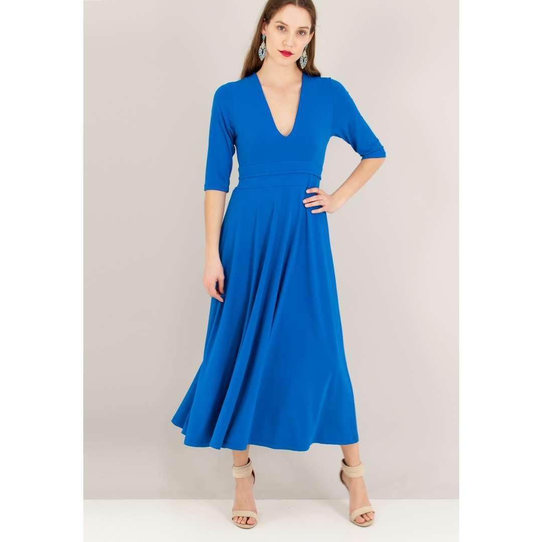 d698d2238616 Μακρύ κλος φόρεμα