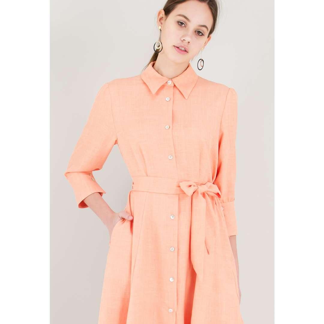 Μίντι κλος φόρεμα με κουμπιά ενδυματα   φορεματα   shirt φορέματα