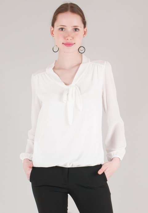 Μπλούζα με δέσιμο στο λαιμό 4f96e17292c