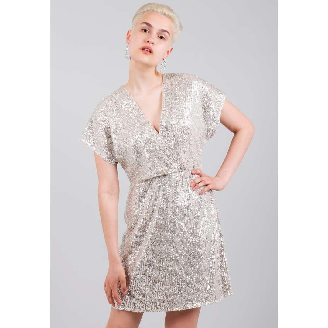 Μίνι φόρεμα με παγιέτες ενδυματα   φορεματα   κρουαζέ φορέματα